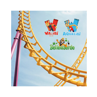 Win 25 x 4 Golden Passes voor Walibi, Aqualibi en Bellewaerde