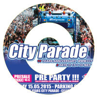 Win tickets voor  de City Parade Charleroi