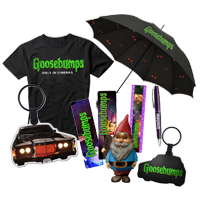 Win 10 goodiebags van de film Goosebumps