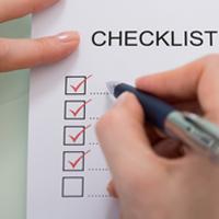 Handbagage checklist