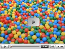 Guy builds giant ball pit in city centre, to offer evereybody 5 minutes of fun