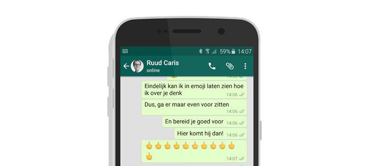 geluid whatsapp iphone